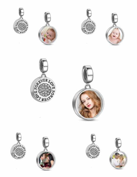 Personalised Photo Dangle Charm